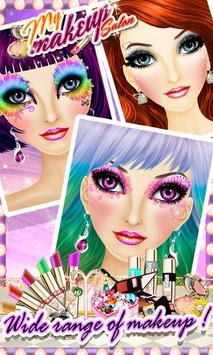 My Makeup Salon - Girls Game screenshot 2
