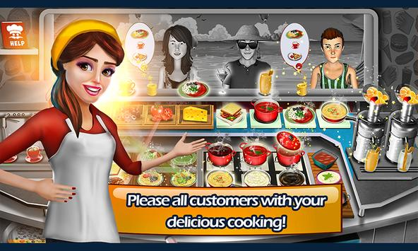 Food Truck Cooking - Crazy Chef Game 🍔 apk screenshot