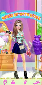 High School Fashion Girl - Dress Up Game apk screenshot