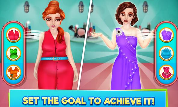 High School Sports Girl: Fat to Fit Fitness Game screenshot 2