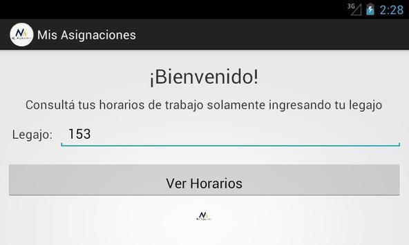 Mis Asignaciones screenshot 1