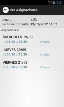 Mis Asignaciones screenshot 2