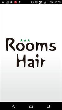 Rooms Hair (ルームスヘアー)公式アプリ poster