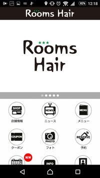 Rooms Hair (ルームスヘアー)公式アプリ apk screenshot