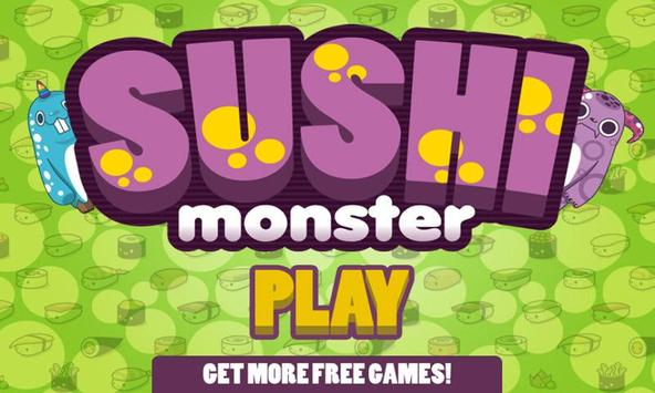 Sushi Monsters Lite poster