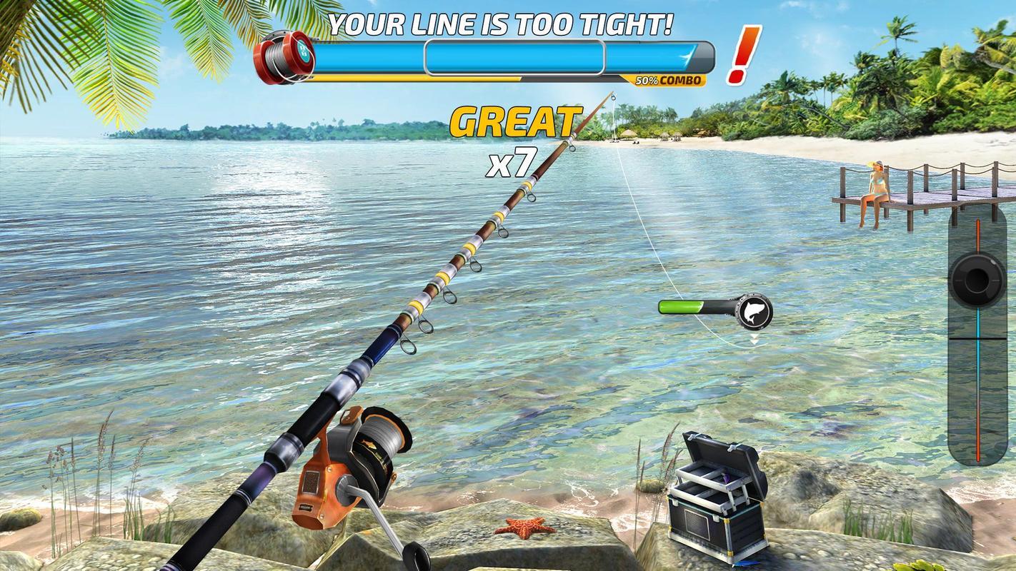 Fishing clash fish game 2017 gra w dkarska 3d apk for Fishing games 2017