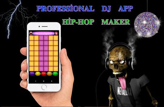 Dj Hip Hop Maker 2018 captura de pantalla de la apk