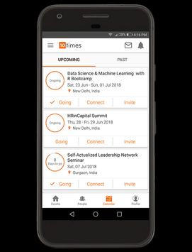 Find Events, Expo, Conference, Workshop to attend! apk screenshot