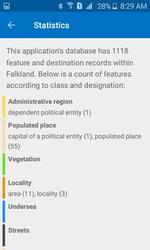 Trek Falklands screenshot 1