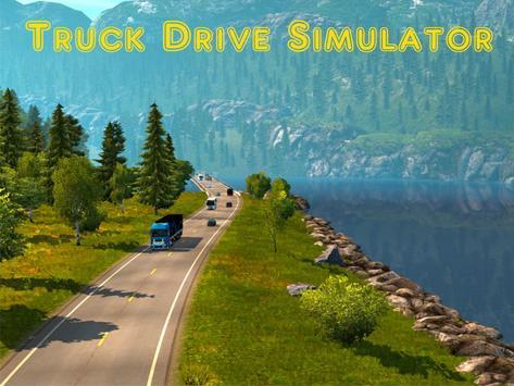 Truck Drive Simulator apk screenshot