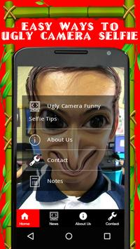Ugly Camera Funny Selfie Tips poster