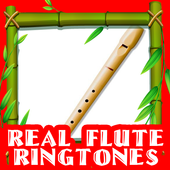 Real Flute Ringtones Tips icon