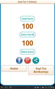Tes IQ apk screenshot