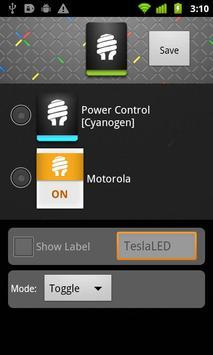 3 Schermata TeslaLED Flashlight