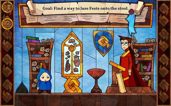 Message Quest — the amazing adventures of Feste ảnh chụp màn hình 8