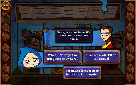 Message Quest — the amazing adventures of Feste ảnh chụp màn hình 16