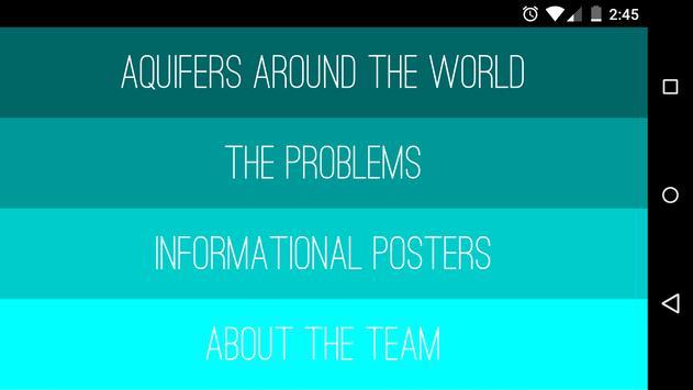 Aquifers Around the World poster
