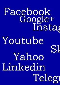 AllSocialNetwork In One App For Instagram lite poster
