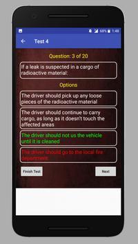HazMat Test apk screenshot
