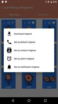 Loud Wakeup Ringtones screenshot 2