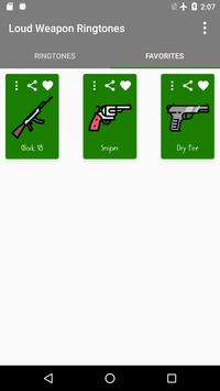Loud Weapon Ringtones screenshot 3