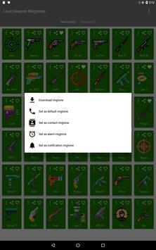 Loud Weapon Ringtones screenshot 10