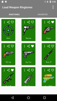 Loud Weapon Ringtones screenshot 1