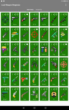 Loud Weapon Ringtones screenshot 5