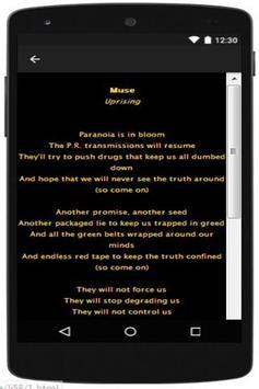Muse The Resistance apk screenshot