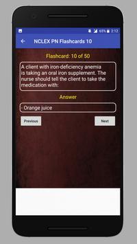 NCLEX PN Practice Questions apk screenshot