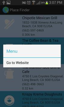 Place Finder screenshot 12