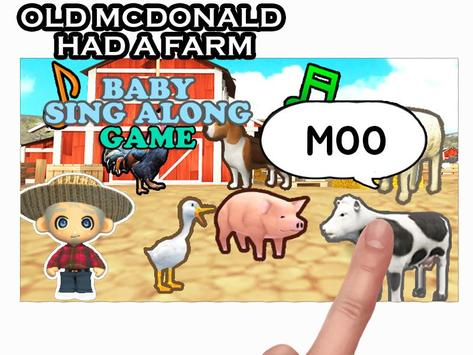 OLD MACDONALD-Baby sing along screenshot 3