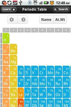 Periodic table apk download free education app for android periodic table apk screenshot urtaz Choice Image