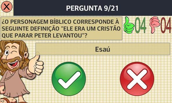 Certo ou falso: Bíblia apk screenshot