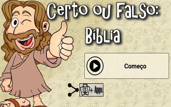Certo ou falso: Bíblia screenshot 8