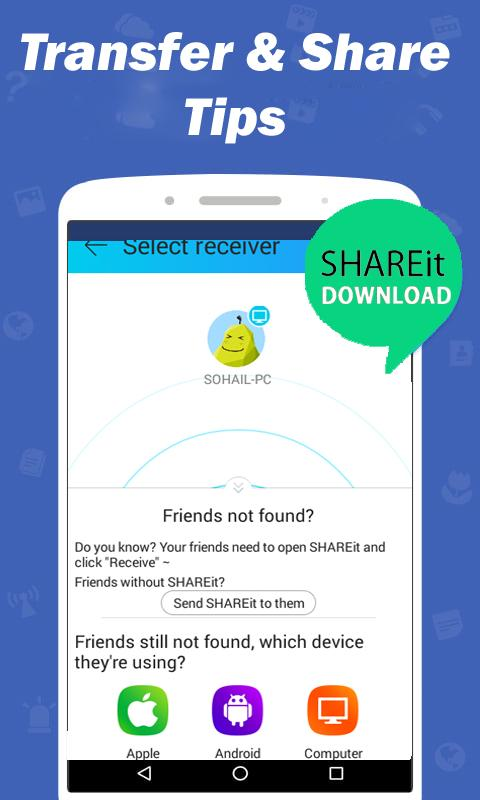 Guide SHAREit 2017 File Transfer for Android - APK Download