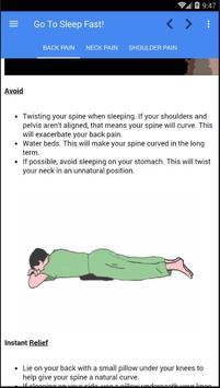 How To Get To Sleep Fast apk screenshot