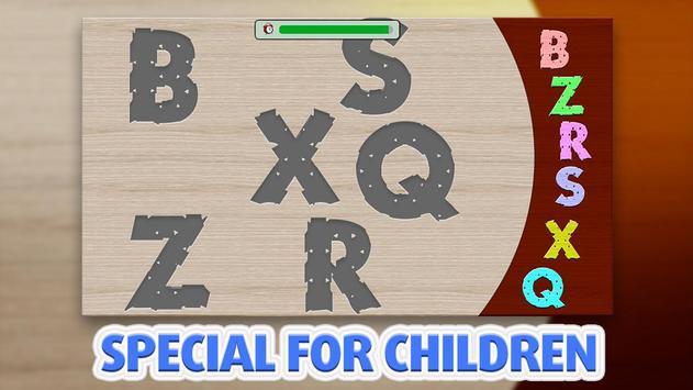 Kids Puzzle - Aplhabet स्क्रीनशॉट 3