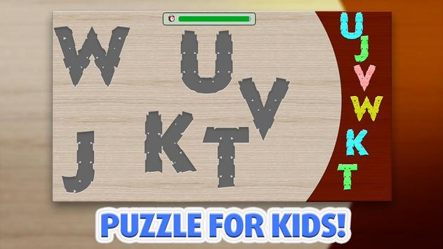 Kids Puzzle - Aplhabet screenshot 4