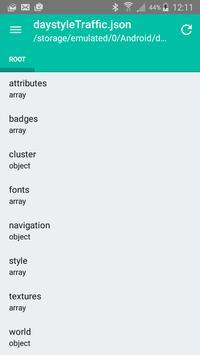JSON viewer apk screenshot
