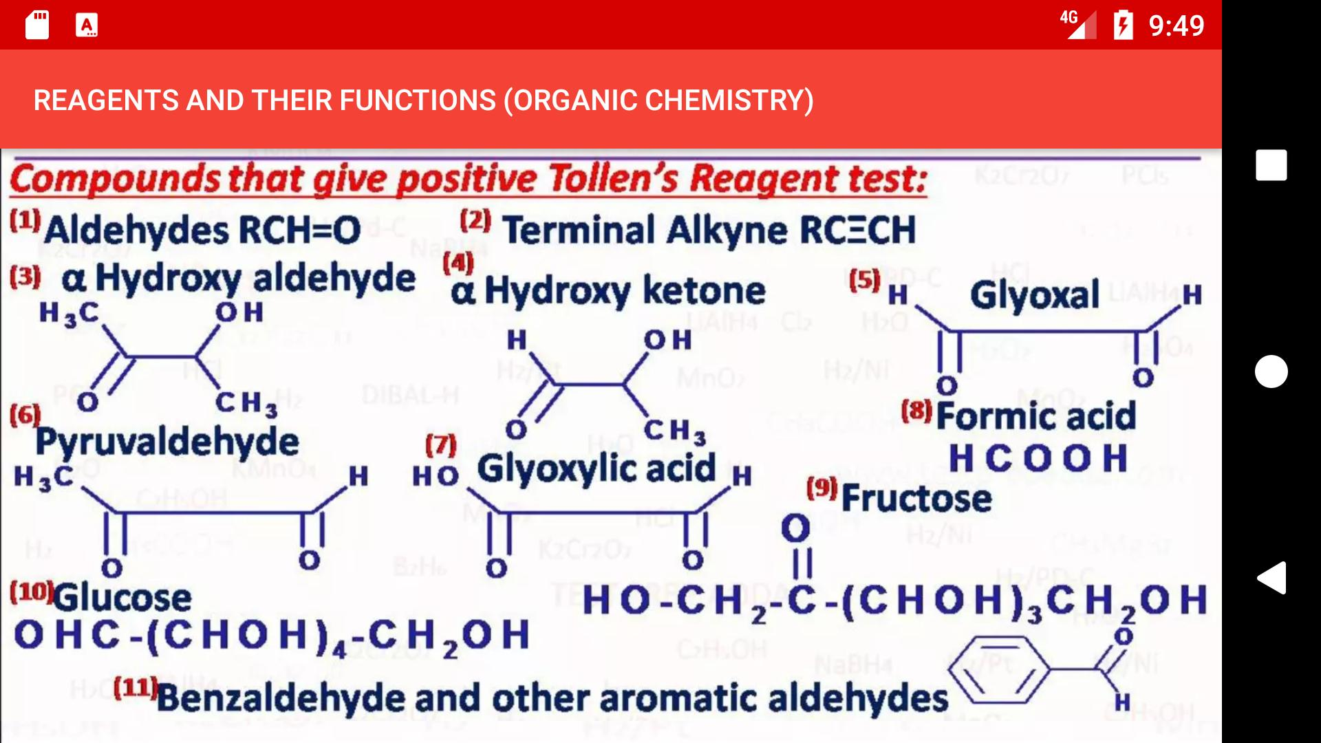 REAGENTS AND THEIR FUNCTIONS ORGANIC CHEMISTRYFree for