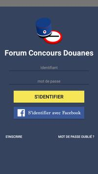 Forum Q/R Concours Des Douanes poster