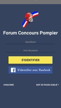 Forum Concours Pompier poster