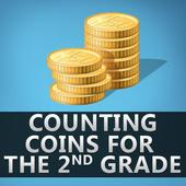 Counting Coins for 2nd Grade icon