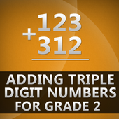 Adding Triple Digit Numbers icon