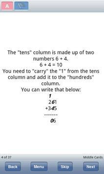Adding Triple Digit Numbers apk screenshot