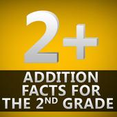 Addition Facts for 2nd Grade icon
