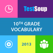 10th Grade English Vocabulary icon