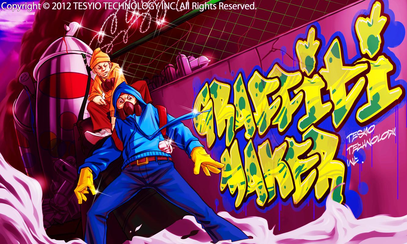 Graffiti maker poster