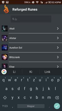 Reforged Runes Guide for LoL screenshot 1
